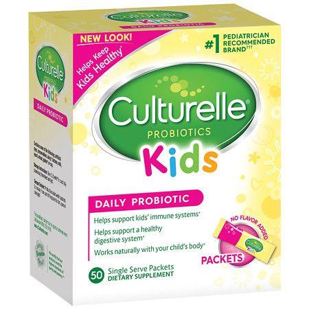 Culturelle Kids Probiotic Packets - 50 Count