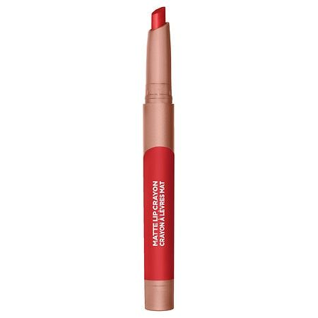 L'Oreal Paris Infallible Matte Lip Crayon Lasting Wear Smudge Resistant Caramel Rebel - 0.04oz