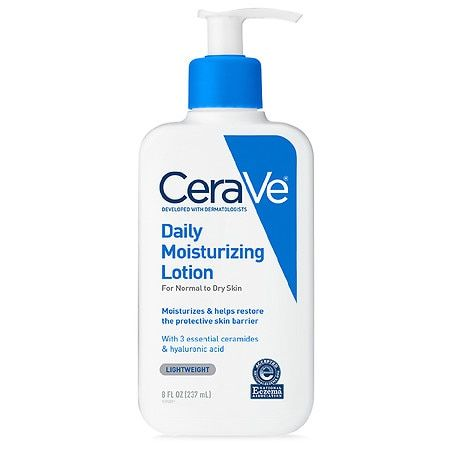 CeraVe Daily Moisturizing Lotion for Normal to Dry Skin, 8 oz