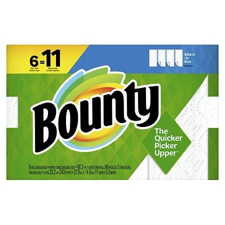 Bounty Select-A-Size Paper Towels - 6.0 ea