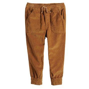 Toddler Boys Jumping Beans® Corduroy Jogger Pants