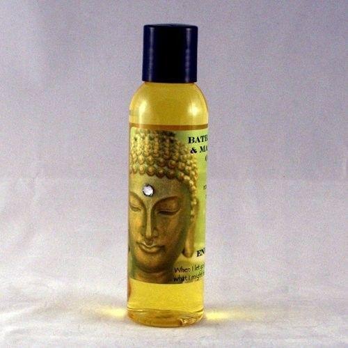 Lilac 4 oz Organic Bath, Body & Massage Oil [Lilac]