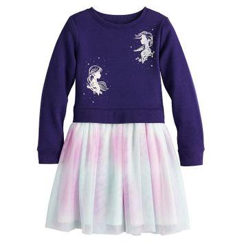 Jumping Beans® Disney's Frozen Toddler Girl Sweatshirt Tulle Dress