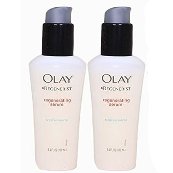 Olay Regenerist Regenerating Serum - Ultra Lightweight Formula for Women 3.4 oz - 2 pack