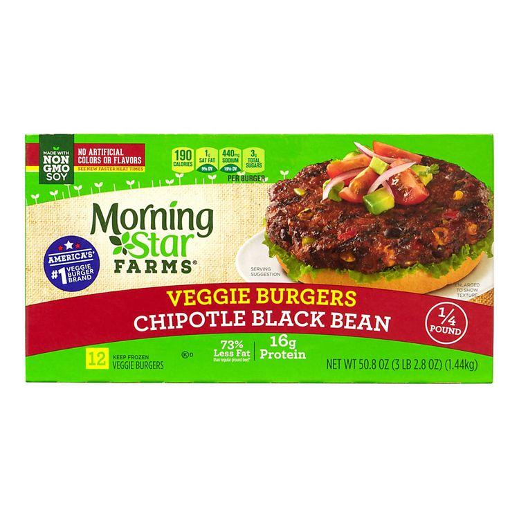 Morningstar Farms Veggie Burgers Spicy Black Bean 50.8oz