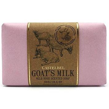 Castelbel Goats Milk Wild Rose Scented Soap - 10.5 oz