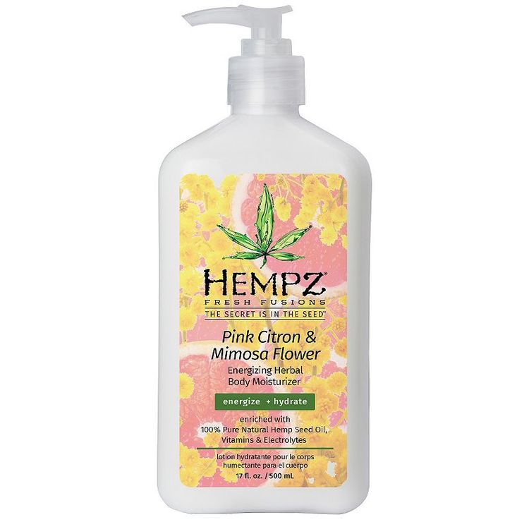 Hempz Fresh Fusions Pink Citron/Mimosa Flower Moisturizer - 17oz