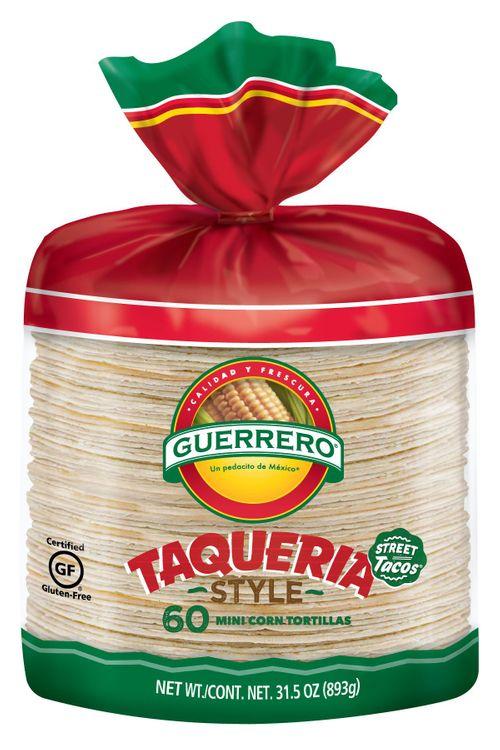 Guerrero Taqueria Style Mini White Corn Tortillas