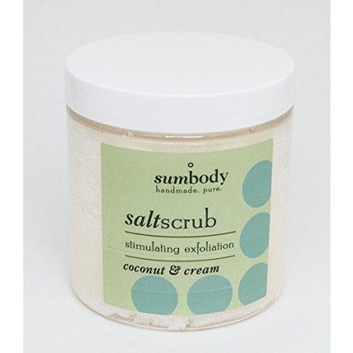 Coconut & Cream Salt Scrub