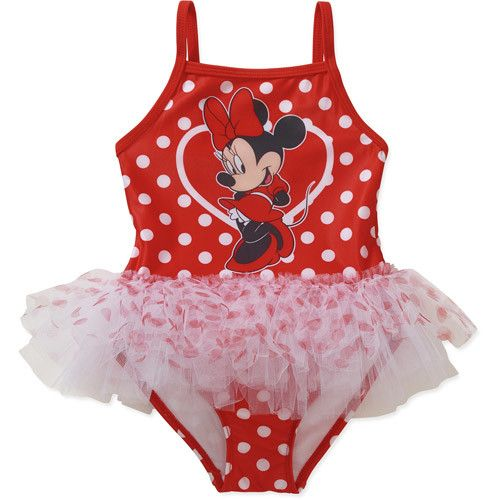 Baby Toddler Girl Character One Piece Swimsuit