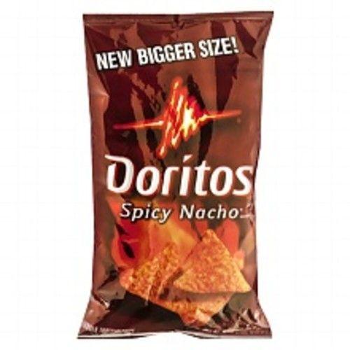 Doritos Flavored Tortilla Chips Spicy Nacho