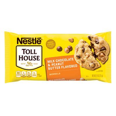 NESTLÉ® TOLL HOUSE® Peanut Butter & Milk Chocolate Morsels