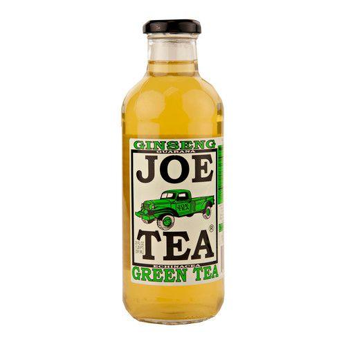 Joe's Tea Ginseng Green Tea 20 oz. Bottle (12 Bottles)