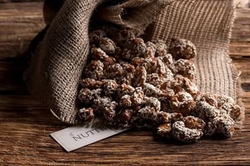 The Nuttery Ny The Nuttery Sesame Almonds Nuts-16 ounce Pouch Bag (1lb)