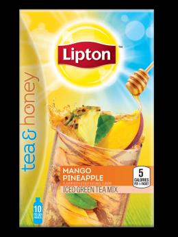Lipton Mango Pineapple Iced Green Tea To Go Packets