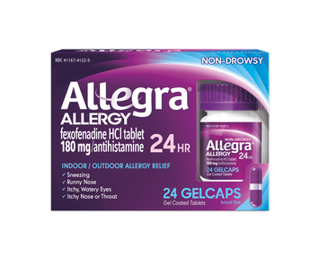 Allegra 24Hr Gelcaps