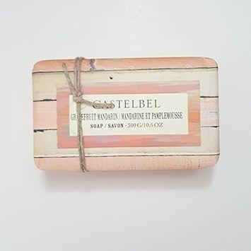 Castelbel Grapefruit Mandarin Moisturizing Soap 10.5 Ounces