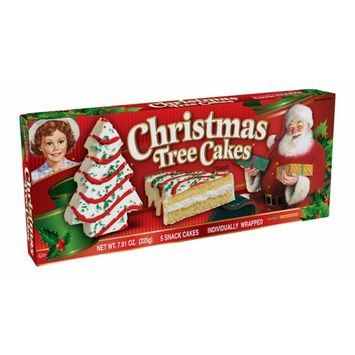 Little Debbie Christmas Snacks & Cakes 2 Boxes (Vanilla Christmas Tree Cakes)