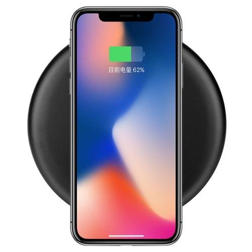 Fast Wireless Charger,AutumnFall New Mini Qi Fast Wireless Charger Rapid Charging Pad Stand for Samsung Galaxy Note 8 Samsung S8 S8 Plus S7 S7 Edge S6 Edge+ Note 5 (black): Beauty