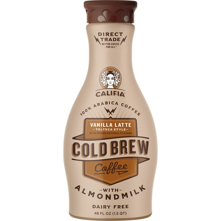 Califia Farms Vanilla Latte Tolteca Cold Brew Coffee
