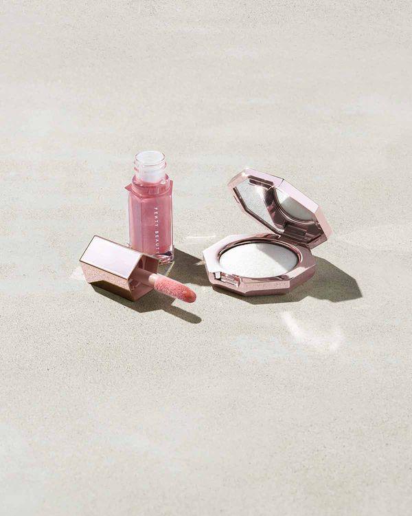 Fenty Beauty Diamond Bomb Baby Mini Face And Lip Set