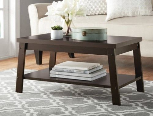 Mainstays Logan Coffee Table, Multiple Finishes