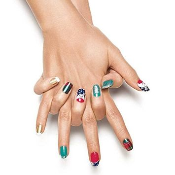 Avon Nail Art Design Strips French Tips Blinged Out