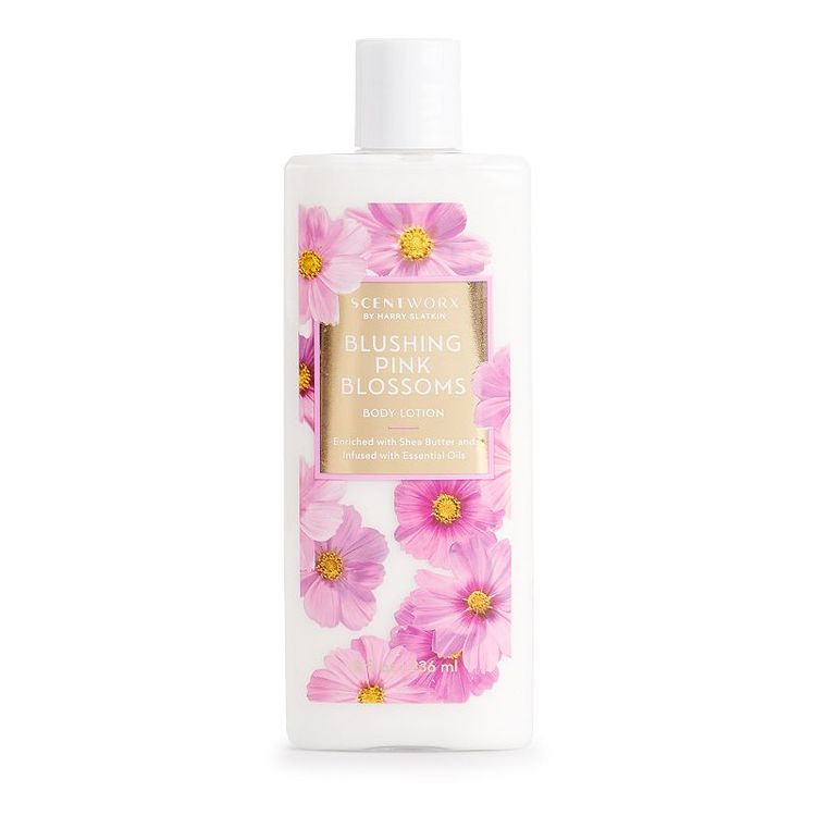 ScentWorx Blushing Pink Blossoms Body Lotion