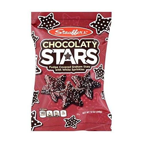 Stauffer's Chocolaty Stars 12 oz (Pack of 2)