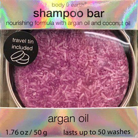 Body And Earth Shampoo Bar Argan Oil
