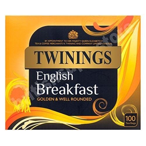 Twinings English Breakfast 100 Teabags 250G [Twinings English Breakfast 100 Teabags 250G]