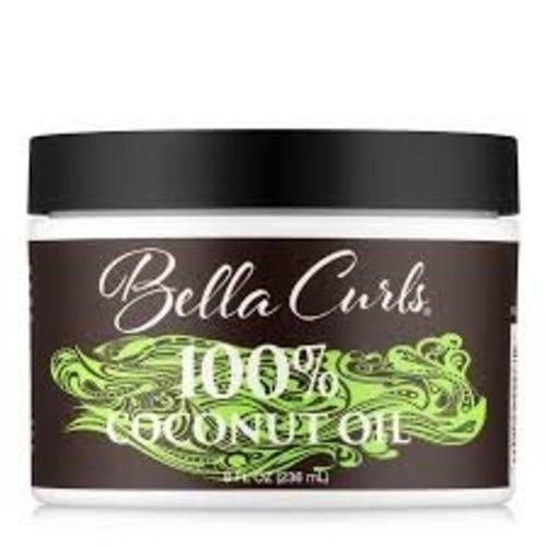 Bella Curls Body 100% Coconut Oil, 8 Ounce [Body Oil]