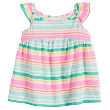 Baby Girl Jumping Beans® Babydoll Tank Top