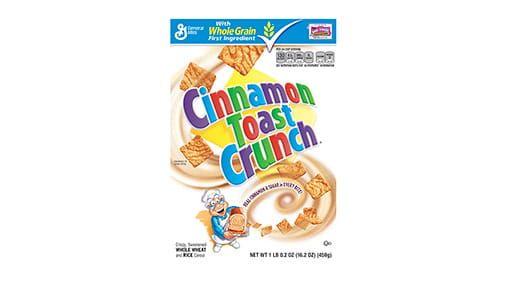 Cinnamon Toast Crunch™ Cereal Box (14 ct) 20.25 oz