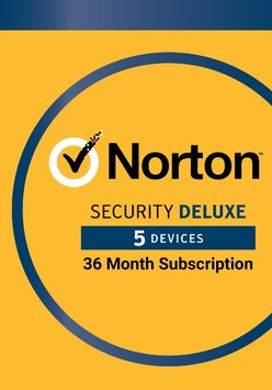Lenovo Norton Security Deluxe – Protection for up to 5 Devices Subscription (Electronic Download)