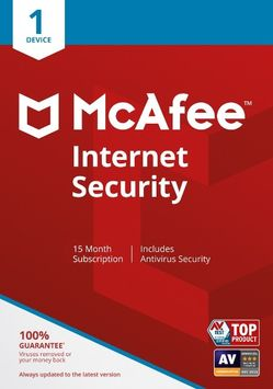 Lenovo McAfee Internet Security, 15-Month Subscription (Electronic Download)