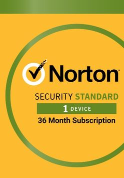 Lenovo Norton Security Standard – Protection for 1 Device 36 Month Subscription (Electronic Download)