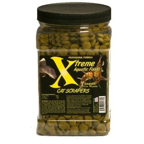 Xtreme Aquatic Foods 2171-F Cat Scrapers Fish Food