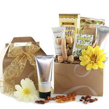 Design It Yourself Gifts & Baskets Simply Thanks Thank You Spa Gift