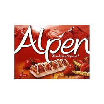 Alpen - Strawberry & Yogurt Cereal Bars - 145g