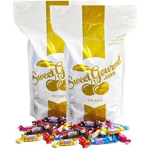 SweetGourmet Brach's Milk Maid Royals - Filled Caramels, 8Lb Bulk ( 2X4Lb)
