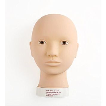 Charlene Makeup Flatback Mannequin Head for Training and Practicing