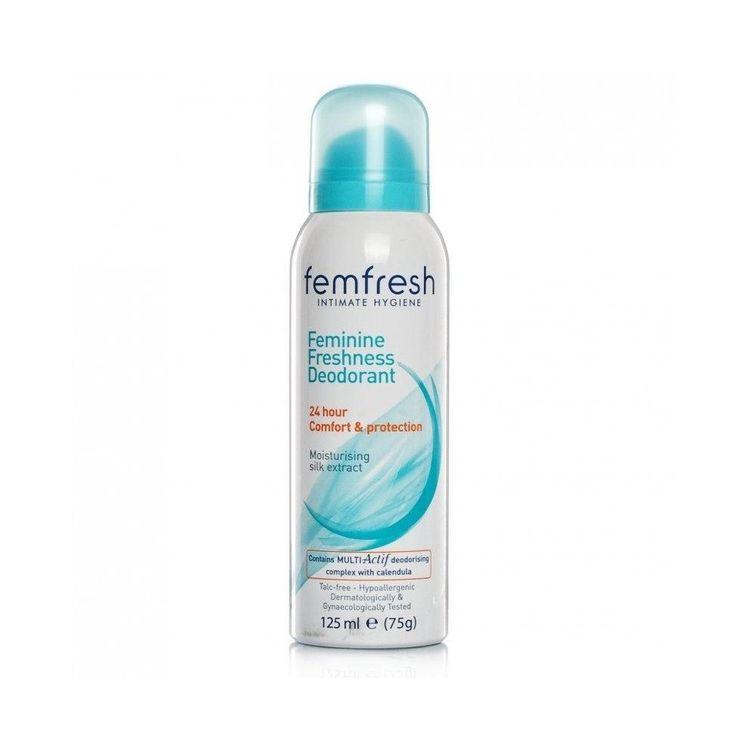 Femfresh Soap Free Wash Intimate 150ml, Deodorant 125ml & Feminine Wipes