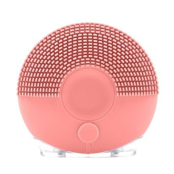 Silicone Face Cleanser Electric, Molie Waterproof Sonic Facial Massager and Cleanser Brushes Pore Cleaner Ultrasonic Facial Deep Cleansing Pad