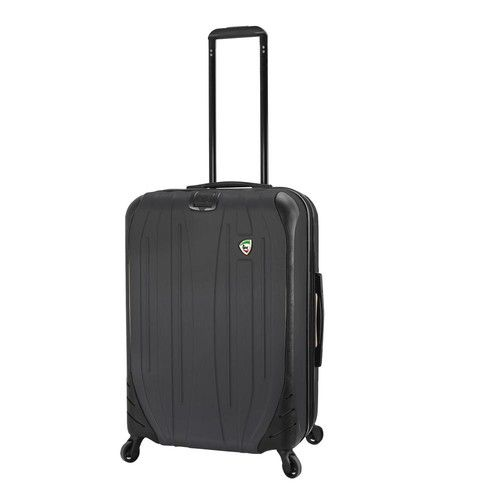 Compaz 24 in. Black Hardside Spinner Suitcase