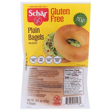 Schar Gluten Free Plain Bagel, 14.1 Oz