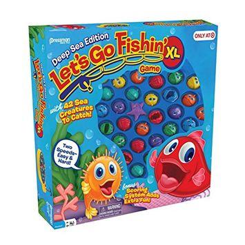 Pressman Let`s Go Fishin` XL: Deep Sea Edition, Multicolor
