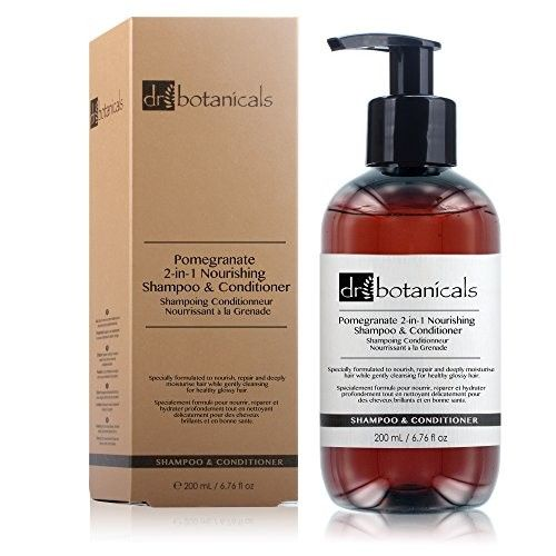 Dr Botanicals Pomegranate 2-in-1 Nourishing Shampoo & Conditioner