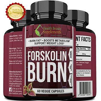 * MEGA FORSKOLIN BURN * Most Proven Forskolin Supplement - Maximum Potency - Maximum Weight Loss Results - Top Rated Natural Supplement - perdida de peso rapido - Forskolin Extract For Weight loss: Health & Personal Care