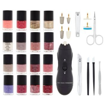 Consumer Service Returns, Markwins International Corp. The Color Workshop Incredible Nails Nail Salon Set, 30 piece